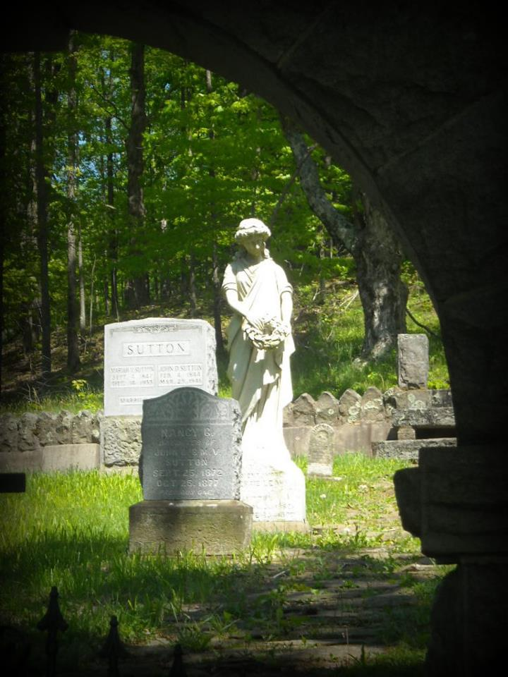 Sutton Cemetery near Flatwoods