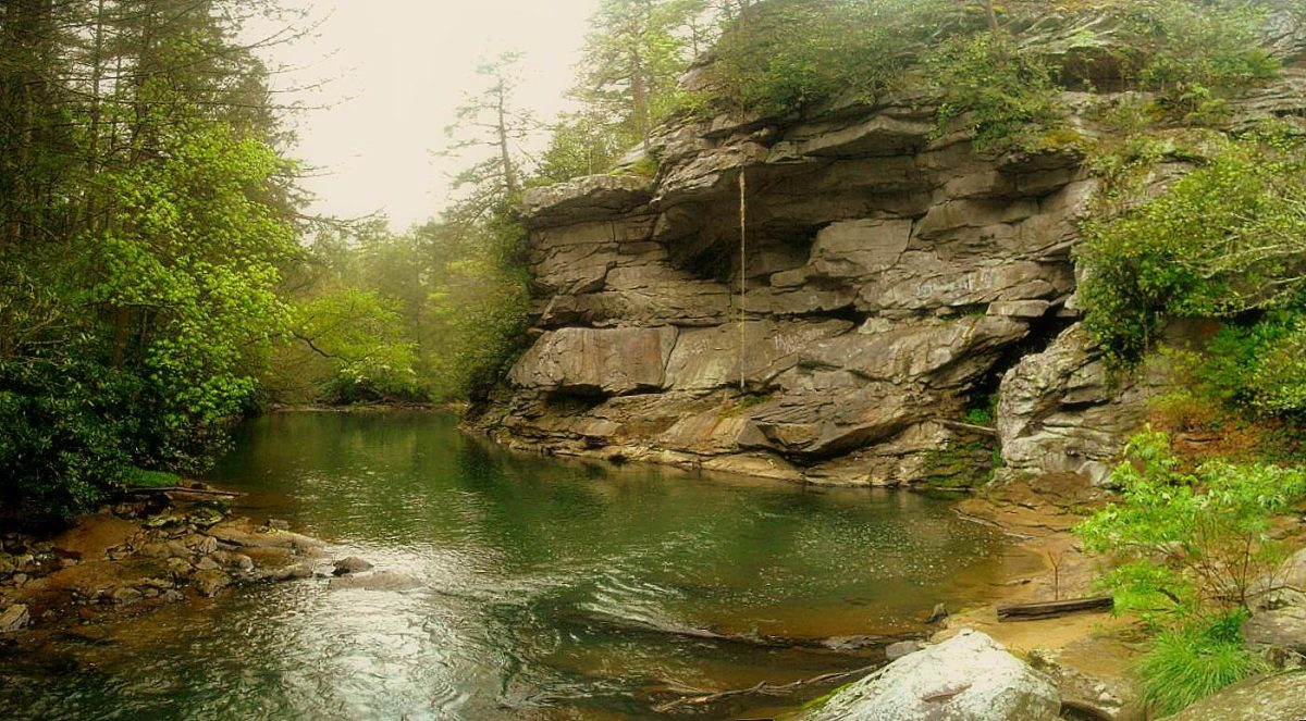 Swimming hole near Pax