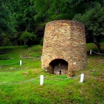 First iron furnace west of Alleghenies