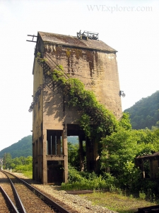 Coaling tower at Thurmond, WV, Fayette County, New River Gorge National River, New River Gorge Region