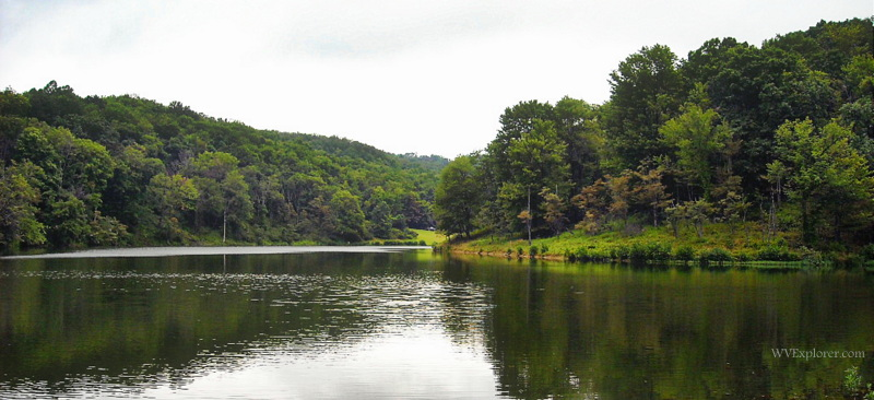 Summer on Tomlinson Run Lake