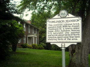 Tomlinson Mansion, Wiliamstown, WV, Wood County, Mid-Ohio Valley Region
