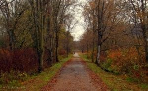 Rail trail at Glen Dale, WV, Marshall County, Northern Panhandle Region