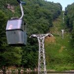 Tram at Pipestem Resort State Park, Pipestem, WV, Summers County, Bluestone Region