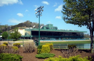 Track at Mardi Gras Casino & Resort, Nitro, West Virginia, Kanawha County, Metro Valley Region