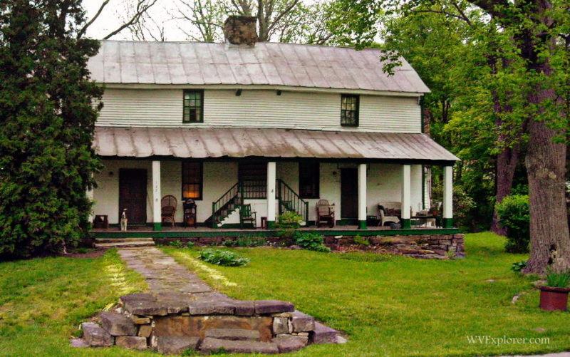 Tyree Tavern at Ansted, WV, Fayette County, New River Gorge Region