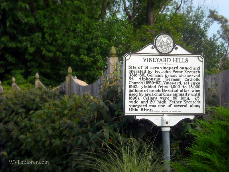 Marker recalls Vineyard Hills history