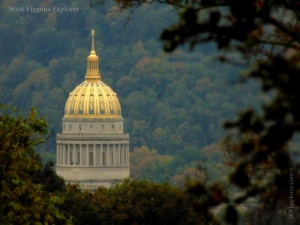 West Virginia Capitol Dome, Charleston, WV, Kanawha County, Metro Valley Region