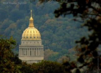 West Virginia Capitol Dome, Charleston, WV, Kanawha County, Metro Valley Region