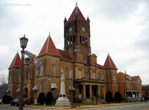 Wetzel County Court House, New Martinsville, WV, Northern Panhandle Region
