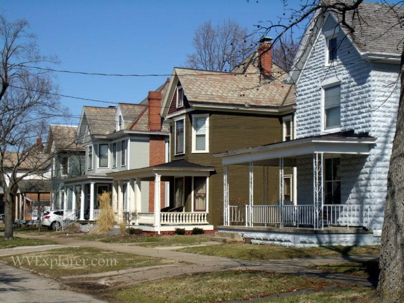 Residential street in Williamstown