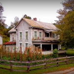 Farmhouse at Rockport, WV, Wood County, Mid-Ohio Valley Region