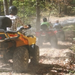 ATV tour into New River, ACE Adventure Resort