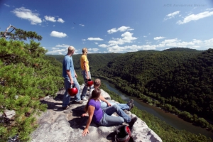 New River overlook at ACE Adventure Resort, New River Gorge