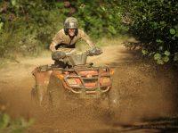 Mud hazard at ACE Adventure Resort, ATV Guides, New River Gorge