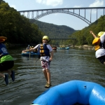 Rafters leap into New River, ACE Adventure Resort