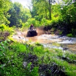 ATV touring near Toney Fork, WV, Wyoming County, Hatfield & McCoy Region