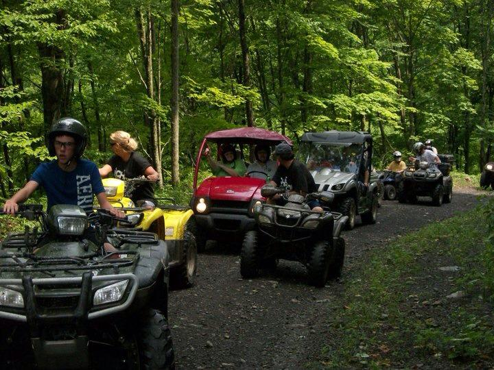 ATV club near Kopperston, WV, Wyoming County, Hatfield & McCoy Region