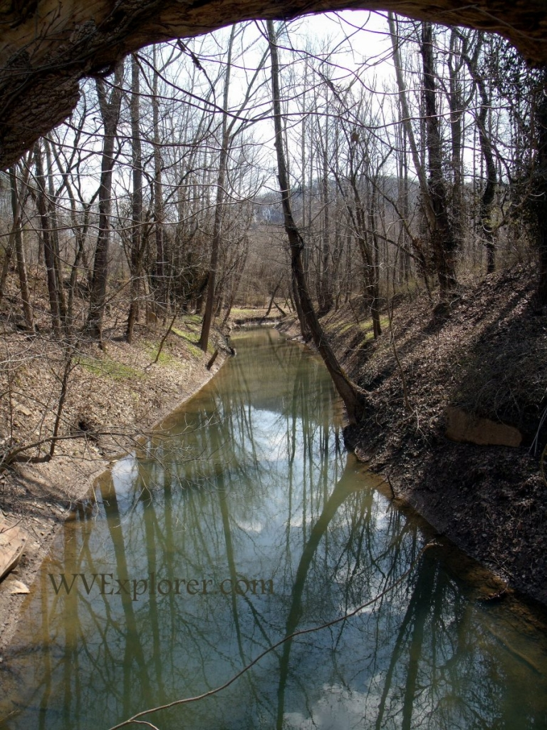 Alum Creek at Alum Creek, WV, Lincoln County, Hatfield & McCoy Region