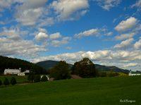 Farmland in Pocahontas County, Allegheny Highlands Region