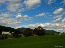 Farmland in Pocahontas County, Allegheny Highlands Region