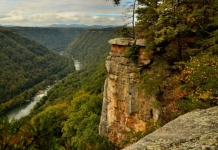 New River Gorge at Beauty Mountain, WV, Fayette County, New River Gorge Region
