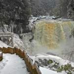 Ice at Blackwater Falls, Blackwater Falls State Park, Davis, WV, Allegheny Highlands Region