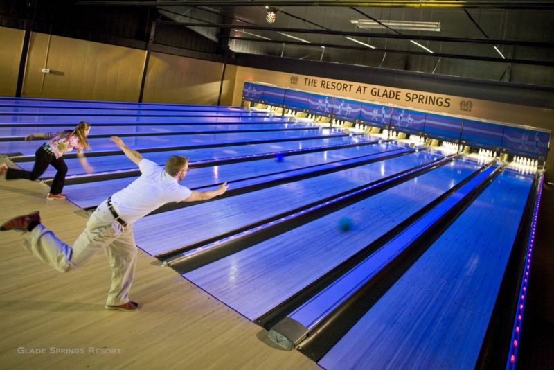 Bowlers at Glade Springs Resort