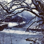 Winter at Bruceton Mills, WV, Preston County, Monongahela Valley Region
