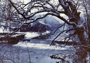 Winter at Bruceton Mills, West Virginia, Preston County, Monongahela Valley Region