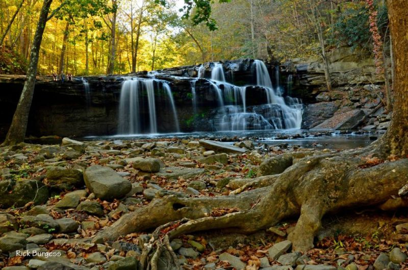 Drawdy Creek Falls near Peytona, WV, Boone County, Hatfield & McCoy Region