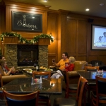 Sports bar at Glade Springs near Winterplace, New River Gorge Region