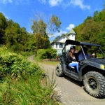 ATV tour at New Salem Church, Tams, WV, Raleigh County, Hatfield & McCoy Region