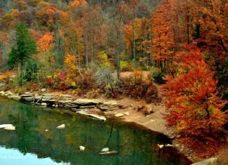 Cheat River, Preston County, Allegheny Highlands Region