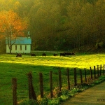 Rural Church, Dodridge County, Heartland Region