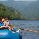 Anglers on New River, Adventures on the Gorge