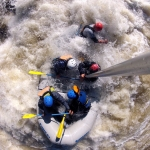 Mid-rapid run on Gauley River, Gauley River National Recreation Area.