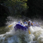 Standing wave on Gauley River, Adventures on the Gorge