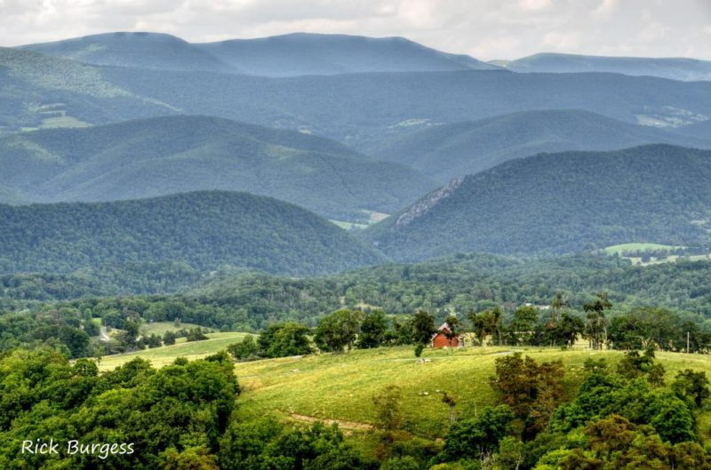 Allegheny Mountains Landscape