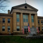Gilmer County Court House, Glenville, WV, Heartland Region