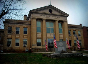 Gilmer County, West Virginia, Court House, Glenville, Heartland Region