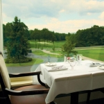 Table for two at Glade Springs Resort, Dining, Daniels, WV, New River Gorge Region