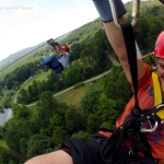 Zip-lining at Adventures on the Gorge, New River Gorge Region