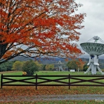 Telescopes at Green Bank, WV, Pocahontas County, Allegheny Highlands Region