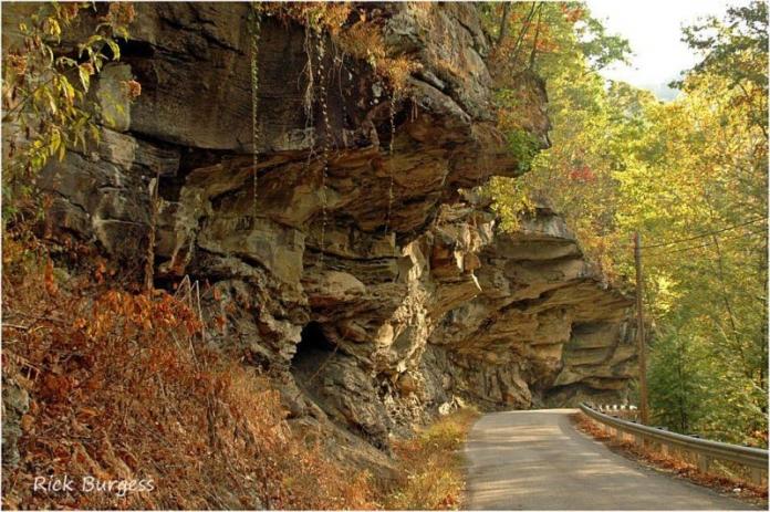 Cliffs in Hacker Valley, Webster County, Allegheny Highlands Region