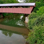 Hokes Mill Covered Bridge, Greenbrier County, Greenbrier Valley Region