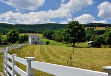 Farm on Jordan Run Road, Grant County, Rick Burgess, Potomac Branches Region