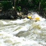 Kayaker on New River, Adventures on the Gorge