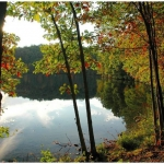 Autumn at Lake Stephens, Raleigh County, New River Gorge Region