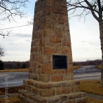 Lilly Monument near Ghent, WV, Summers County, Bluestone Region